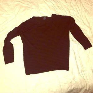 Ruffled 3/4 Sleeve Shirt